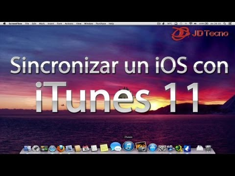 Como sincronizar un iPhone, iPod o iPad con iTunes (Música, Videos, Fotos, Apps, etc.)
