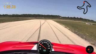 Harris Hill Raceway Clockwise in a 2014 Ferrari Speciale