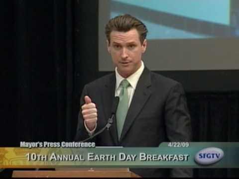 Mayor Gavin Newsom Launches World s First EcoMap
