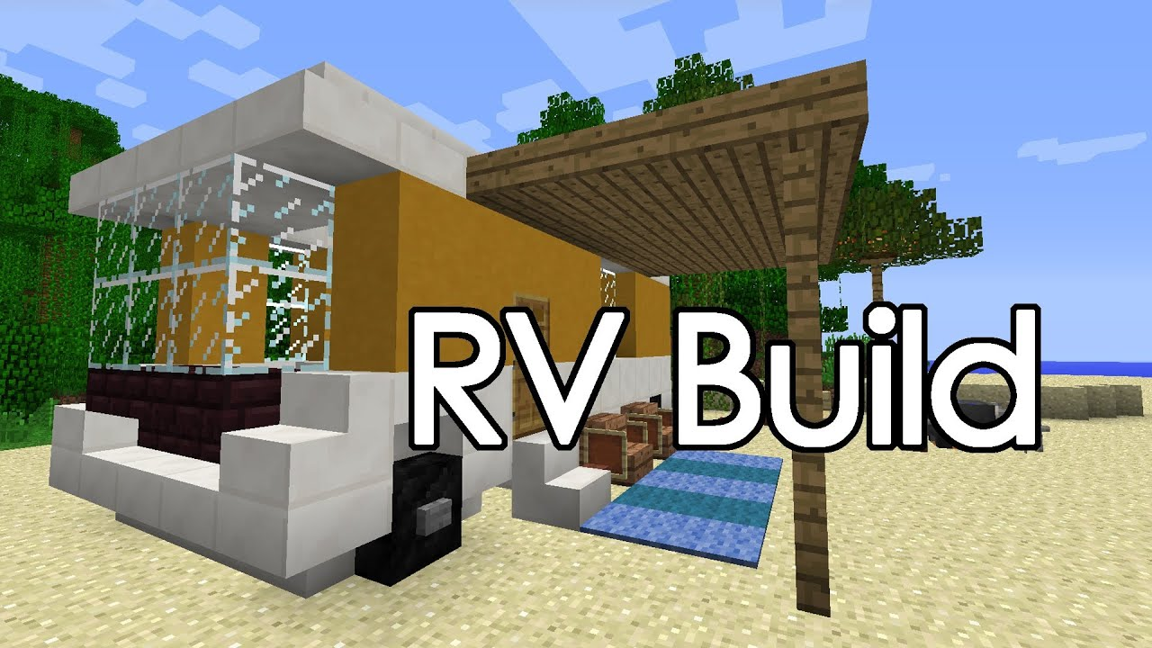 Minecraft RV Camper Build YouTube