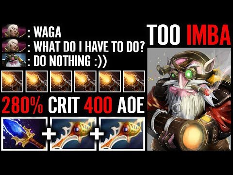 WTH?! Ultimate divine Tactic + Eul's Scepter For Blade mail - insane cancer build - Waga dota 2