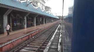 ARRIVING THIRUVANANTHAPURAM CENTRAL, CHENNAI - TRIVANDRUM WEEKLY