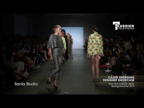 CAAFD EMERGING DESIGNER SHOWCASE New York Fashion Week Spring/Summer Part 2