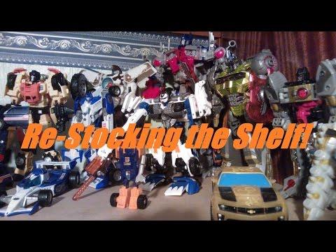 Transformers Vlog: Re-Stocking the shelf thumbnail