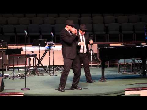 Caldwell Academy: Talent Show 2014 Blues Brothers