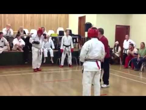 Black Belt Sparring Image 1