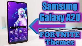 Samsung Galaxy A20 FORTNITE Themes