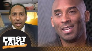 Stephen A. Smith agrees with Kobe Bryant's comments on Lakers' legacy | First Take | ESPN