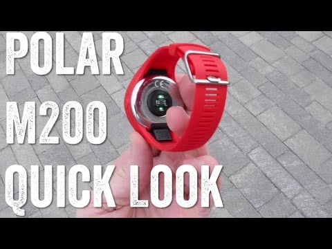 Quick Hands-on: Polar M200 GPS with optical HR