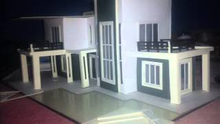 How to make Architecture house bunglow model