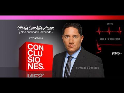 CONCLUSIONES / María Conchita Alonso ¿Revocada?