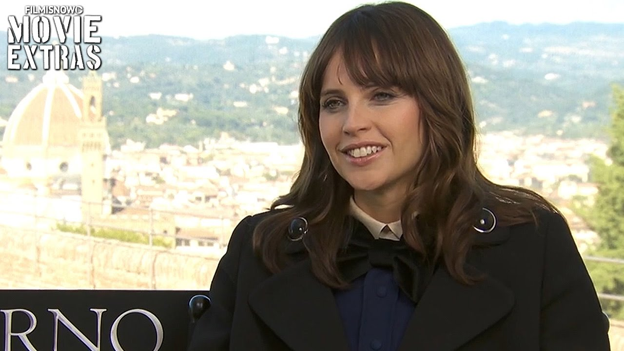 Inferno (2016) Felicity Jones talks about her experience making the movie