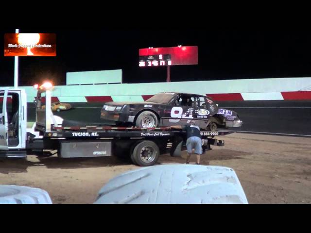 Racing Highlights From Tucson Speedway April 20th 2013