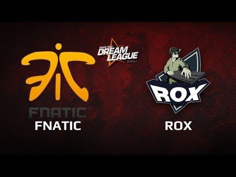 Fnatic vs Rox.KIS, Dreamleague Day 14, Game 3