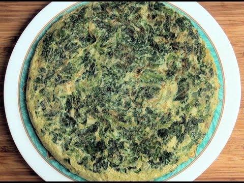 Tortilla de espinacas suprema, la mas mejor.Vídeo receta 108 Aquí cocinamos todos. Cooking recipe