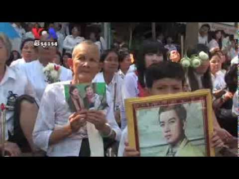 Mourning in the Streets as Sihanouk Cremation Ceremonies Begin