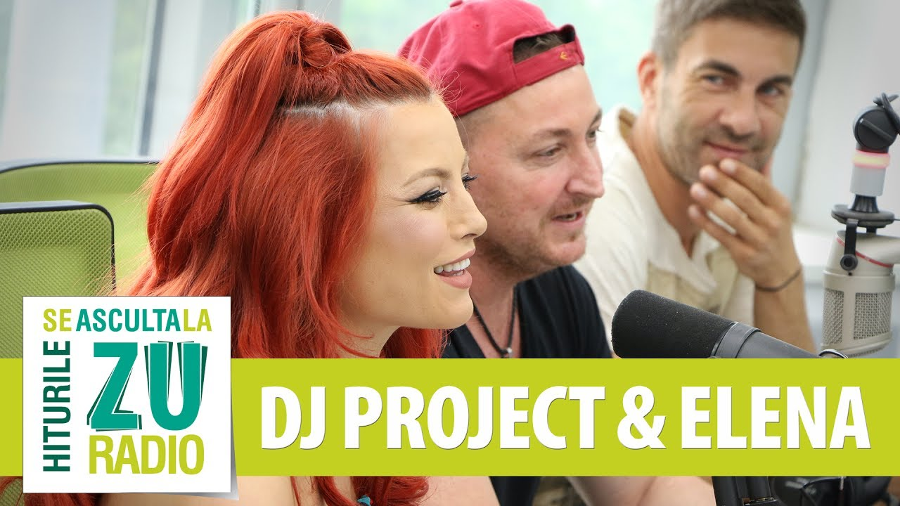 DJ Project feat. Elena - Duminica (Live la Radio ZU)
