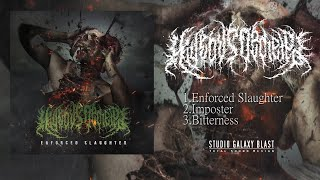HIDEOUS DEPLETED - ENFORCED SLAUGHTER [OFFICIAL EP STREAM] (2020) SW EXCLUSIVE