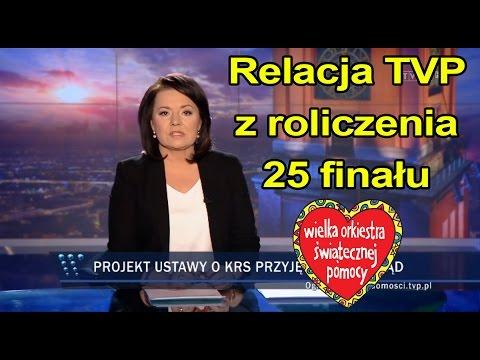 Tak TVP Relacjonowało Rozliczenie 25 Finału WOŚP