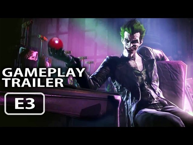 Batman Arkham Origins Gameplay Trailer (E3 2013)