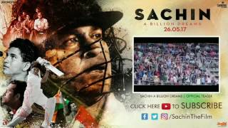 Sachin Tendulkar special video and movie trailer video