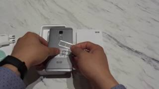 "UNBOXING Elephone S3 5.2"" Bezel-Less 2.5D 3GB / 16GB MTK6753 TOUCHID Quick Charge Metal Unibody"