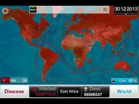 Guide: Plague Inc. Nano-Virus on Brutal