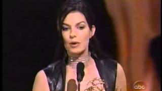 Sela Ward wins 2000 Emmy Award for Lead Actress in a Drama Series