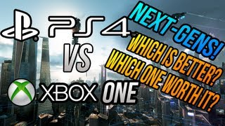 Playstation 4 VS Xbox One (Next-Gen Consoles) Press Conference/Console Overviews