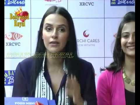 Neha Dhupia Launches India's 1st Braille & Audio Menu For The Visually Challenged  2 video