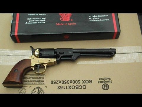 Denix 1851 Revolver review