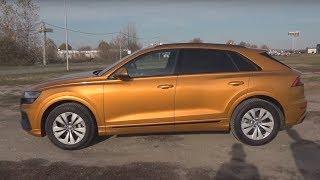 Audi Q8 50 TDI quattro tiptronic élő teszt