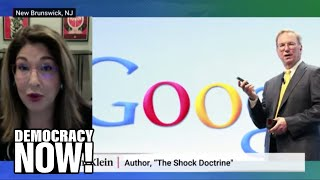 Video: Big Tech uses Coronavirus lockdown to design 'New Normal' for Health, Education & Employment sector - Naomi Klein