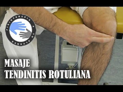 Masaje para tendinitis rotuliana, como autotratar tu lesion