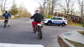 10 MINUTES OF POLICE vs BIKERS | POLICE CHASING DIRTBIKERS | ANGRY & COOL COPS