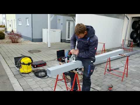 HG Überdachung - Aufbau Terrassenüberdachung