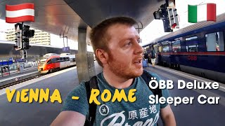 Vienna to Rome by train: ÖBB's Nightjet Sleeper (Deluxe)