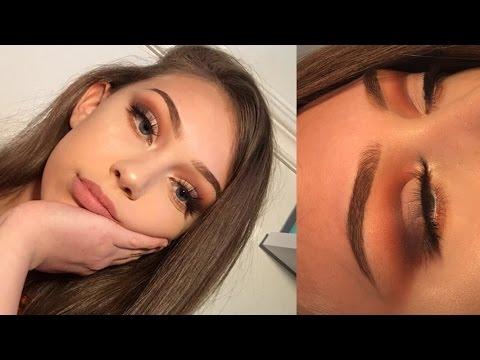 Neutral half cut crease   Eyeshadow tutorial