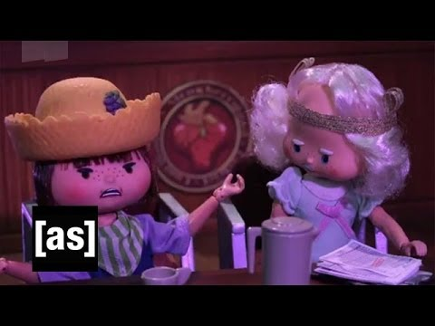 Purple American Pieman | Robot Chicken | Adult Swim