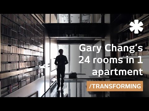 Extreme transformer home in Hong Kong: Gary Chang s 24 rooms in 1