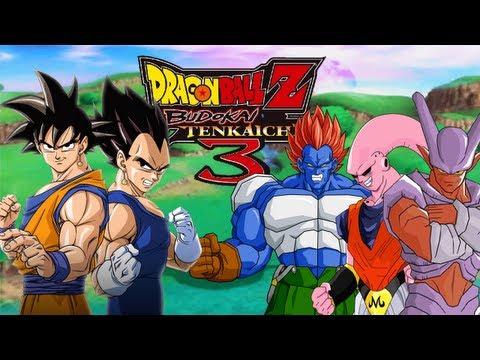 DBZ: Budokai Tenkaichi 3 | Goku y Vegeta contra los mamados