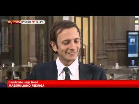 Un Caffè con.. Massimiliano Fedriga  SkyTg24 14 febbraio 2013