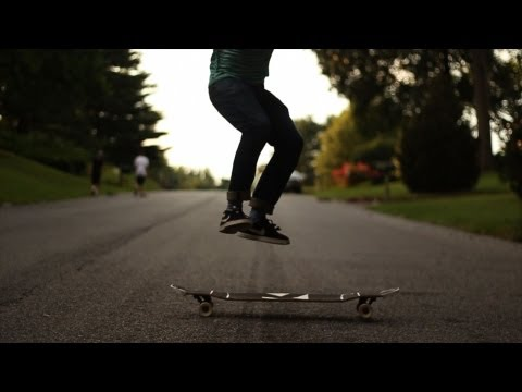 December Longboarding with Carl Knight