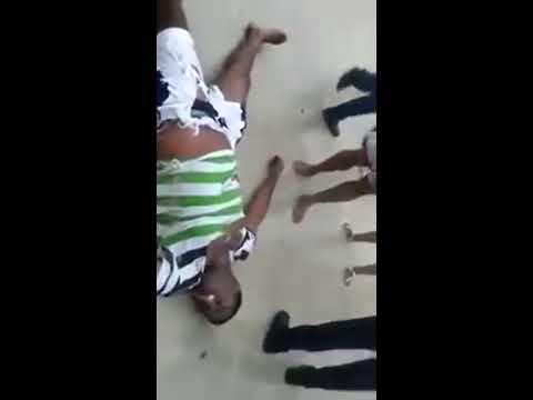 Increible - Rayo  cae y mata un joven en Bocachica
