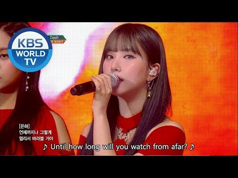 Baek Z Young, GFRIEND (백지영, 여자친구) - DASH [Music Bank Special Stage / 2018.06.29]