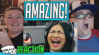 Hazelyn Casca O Performs Quot I Surrender Quot  Celine Dion Live On Wish 107 5 Bus Reaction