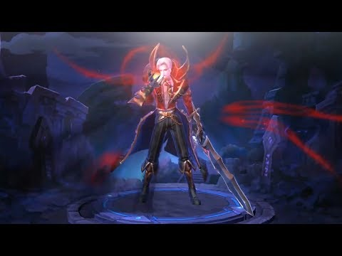 FIRST LOOK at NEW Alucard Viscount Skin (Mobile Legends)