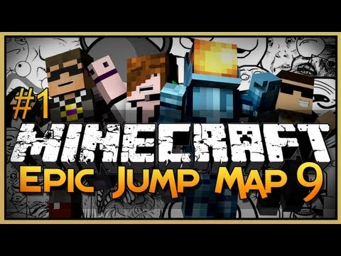 Minecraft: Epic Jump Map 9 - Part 1 - Ultimate Trolling