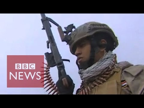 "Iraq's army ""regaining confidence"" in fight against Islamic State - BBC News"
