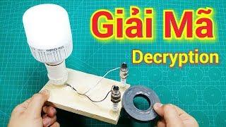 Giải Mã Máy Phát Điện Miễn Phí Từ Bugi và Nam Châm - decryption Free Energy Device